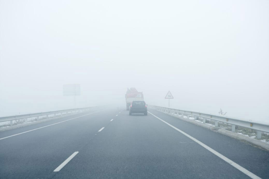 SEVEN SAFETY TIPS FOR DRIVING IN THE FOG
